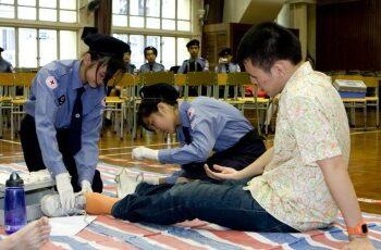 香港紅十字會急救 (2)